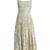 Didier pleated silk dress