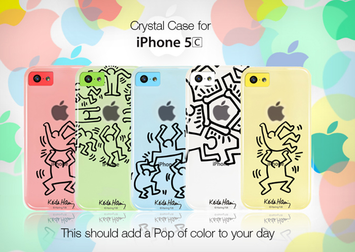 Case Scenario x Keith Haring Crystal Case for iPhone 5c