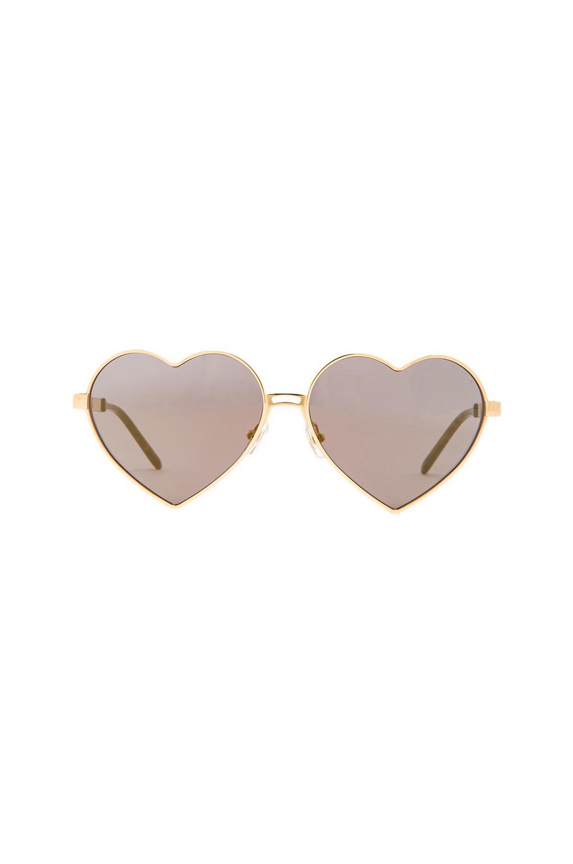 Wildfox Couture Lolita Sunglasses en Dorado from REVOLVEclothing.com