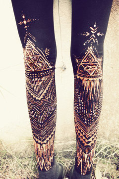 TRIBAL/COOL LEGGINGS on The Hunt