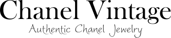 Chanel Vintage CC Logos Chain Bracelet