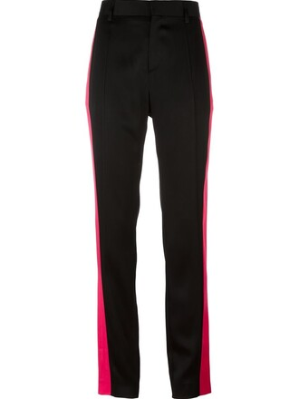 women cotton black pants