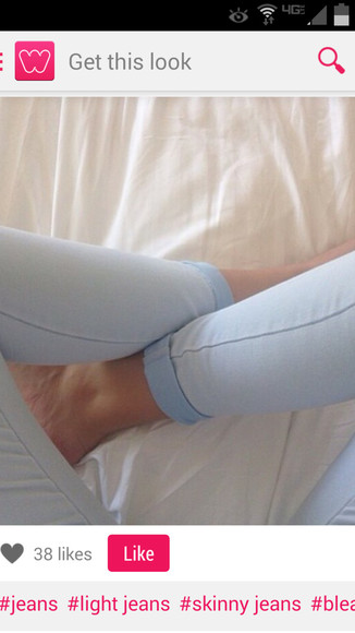 jeans bleached jeans