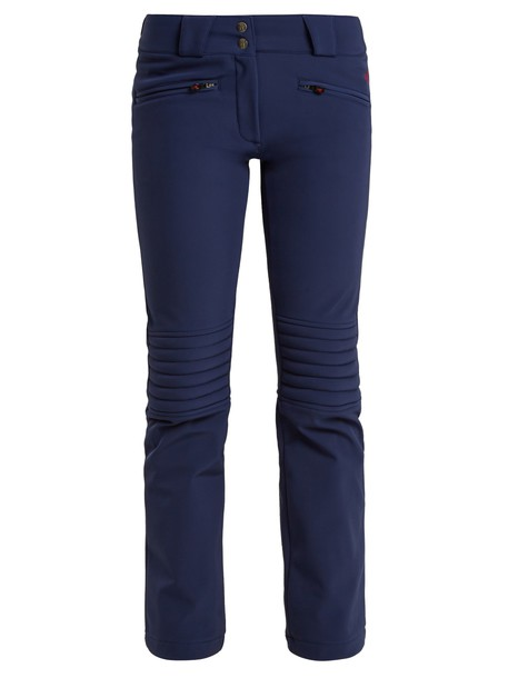 Perfect Moment flare navy pants