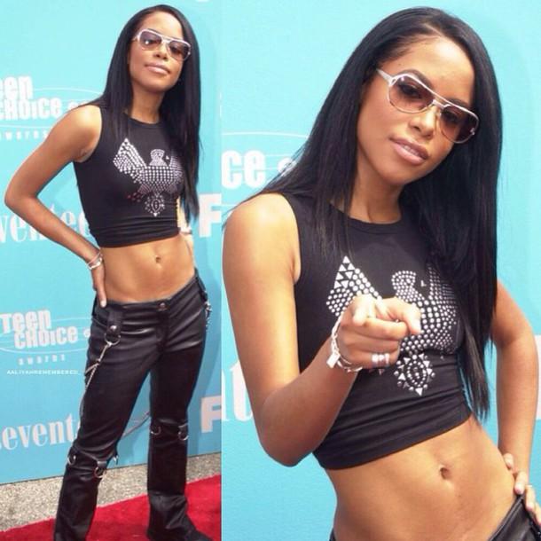 blouse top aaliyah haughton Aaliyah Dana Haughton