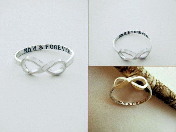 Now & forever infinity ring exclusively by par donnaodesigns