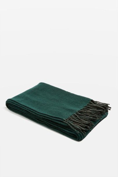 Topshop forest scarf