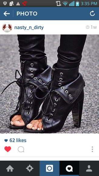 shoes open toes boots ankle boots black boots black booties open toe high heels open toe shoes lace up ankle boots