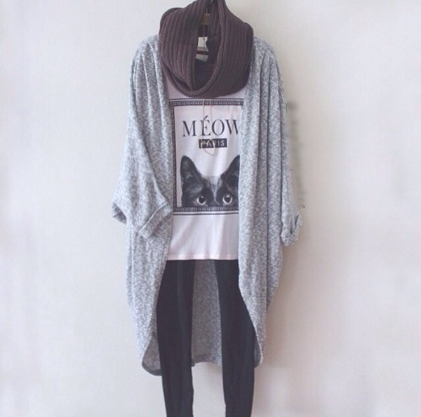 coat knitted cardigan black and white cardigan fashionista fashionable cardigan shirt top jewels