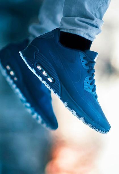 shoes nike mens shoes blue