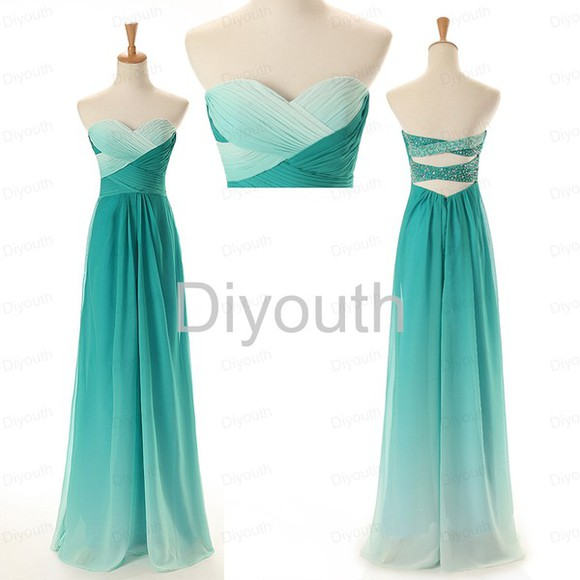 prom dress gradient bridesmaid dress 2014 bridesmaid dress long bridesmaid dresses gradient prom dress cheap prom dress