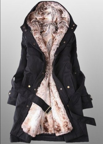 coat winter coat women's coats shoes black coat fur fur coat