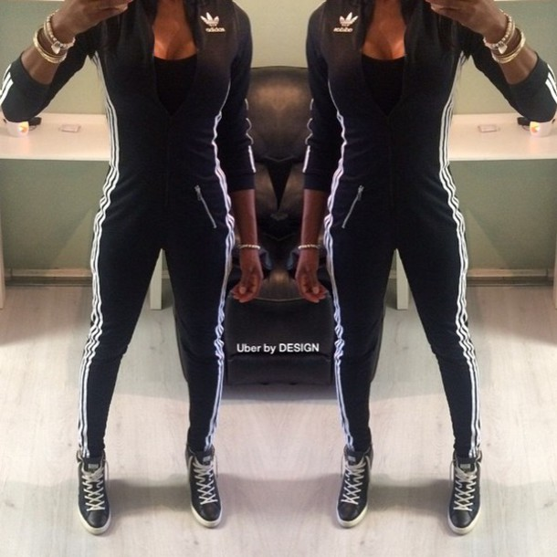Adidas Tracksuit Jumpsuit Thehampsteadfactorycouk