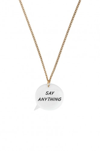 Speech Bubble Necklace