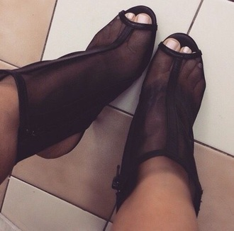 shoes black blsck shoes black heels sheer