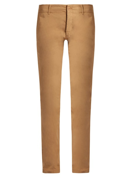 Tomas Maier cotton camel pants