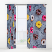 home accessory,donut,food,kitchen,sweet,shower curtain,home decor