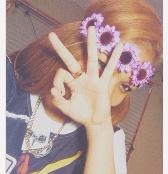 flower crown headband hair accessories wolftyla