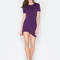 Thigh hi and hello curved hem dress purple blush - gojane.com