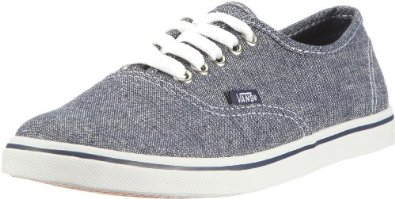 Amazon.com: Vans Women's VANS AUTHENTIC LO PRO (GLITTER WEAVE) CASUAL SHOES 9.5 (BLUE): Shoes