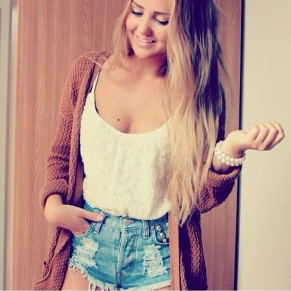 Cute coat short
