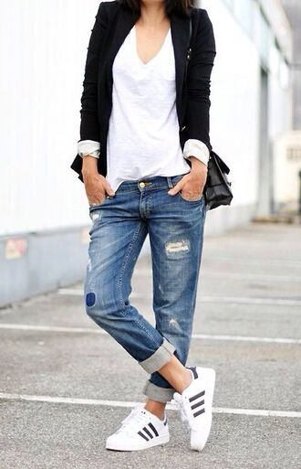 cardigan shoes stan smith shirt t-shirt pants trousers blue adidas adidas shoes white blue black jacket bag blazer blouse jeans white tee ripped distressed denim superstar blue jeans
