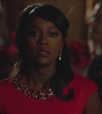 dress red how to get away with murder michaela pratt embellished aja naomi king
