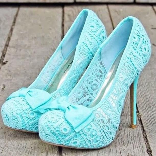 shoes blue high heels heels lace up heels ankle heels summer heels bow heels high heels