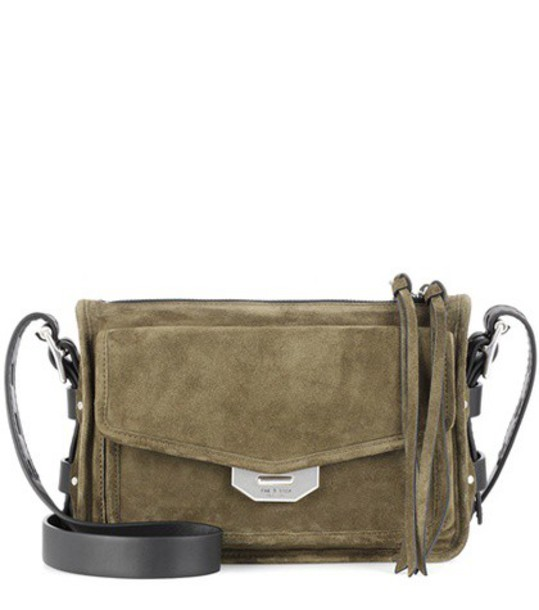 Rag & Bone bag crossbody bag suede green