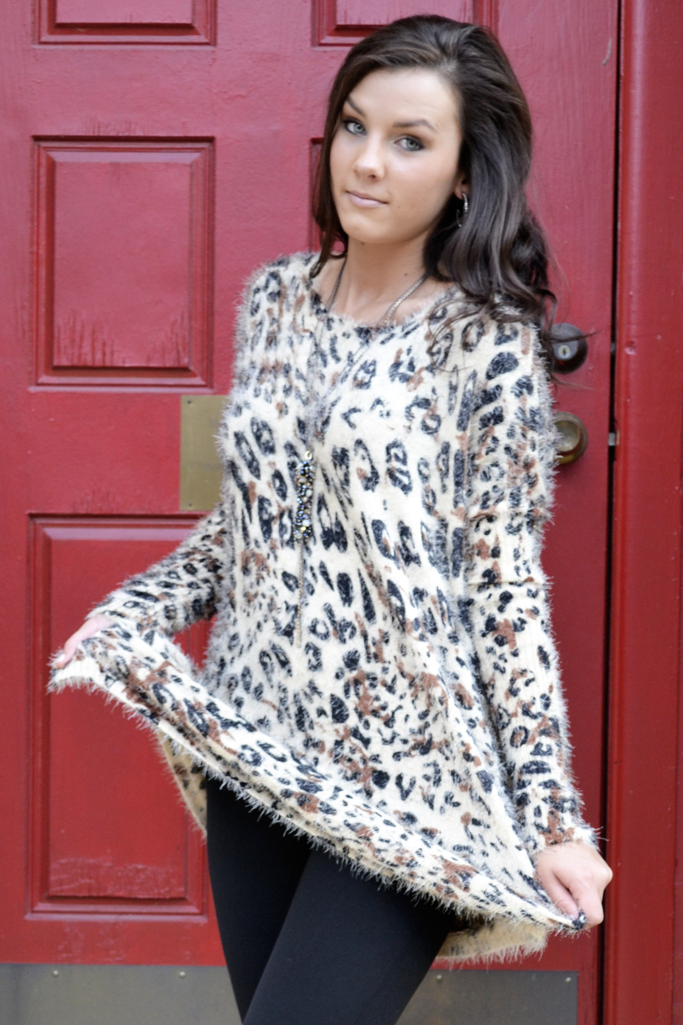 Cheetahlicious sweater