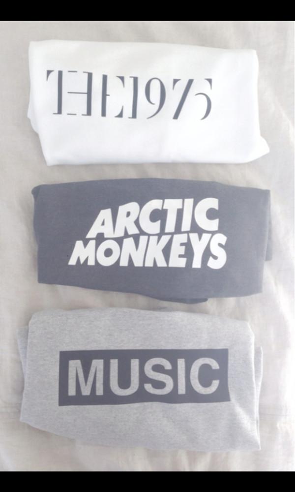 shirt the 1975 arctic monkeys music the 1975 tshirt arctic monkeys top