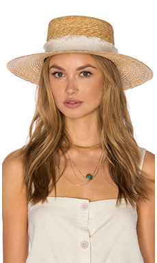 Rag & Bone Laurie Hat in Natural from Revolve.com