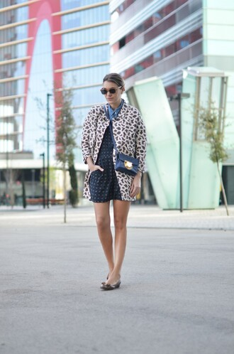 my daily style coat shorts shoes bag sunglasses