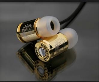 earphones technology gold dope wishlist