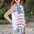 American Flag Tribal Print Muscle Tank | Obsezz