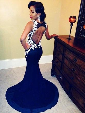dress black prom dress mermaid prom dress black dress prom dress lace dress formal dress elegant
