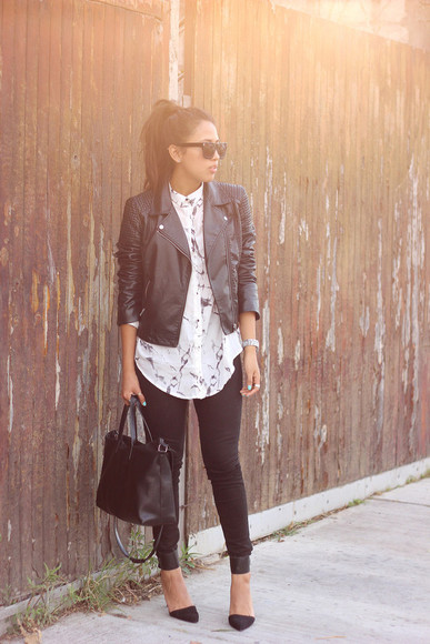 streetstyle blouse that's chic simple comfy outfits