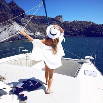 hat white girl summer