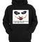 Black praymid hoodie