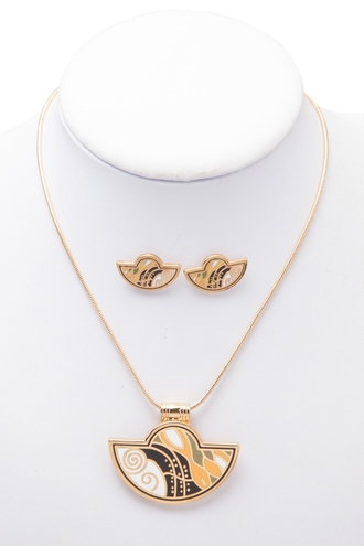 jewels necklace earrings