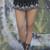 Aztec Princess Chiffon Shorts
