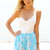 White Party Top - White One Shoulder Leotard with | UsTrendy