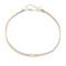 Jennifer zeuner jewelry ivy gia choker necklace - nude/silver