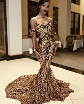 dress,gold prom dress,instagram,ankara,black and gold,ankara gown,prom,gold,black,mermaid,2018,senior,formal,elegant,prom dress