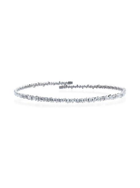 Suzanne Kalan women classic gold white grey metallic jewels