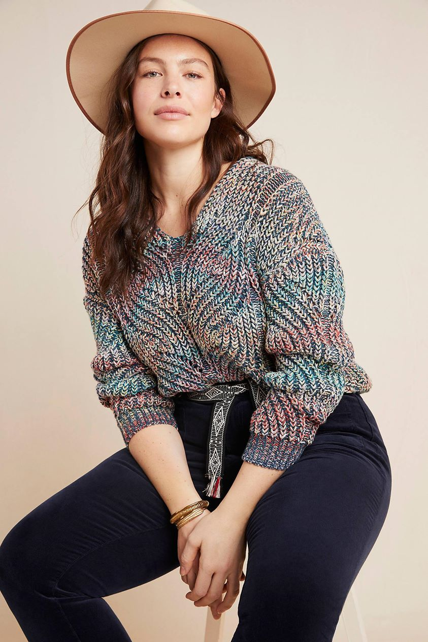 Chroma Sweater by Anthropologie in Assorted