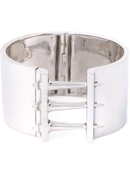 Stephen Webster cuff women moon silver grey metallic jewels