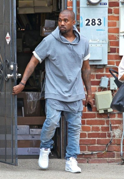 kanye west jacket grey
