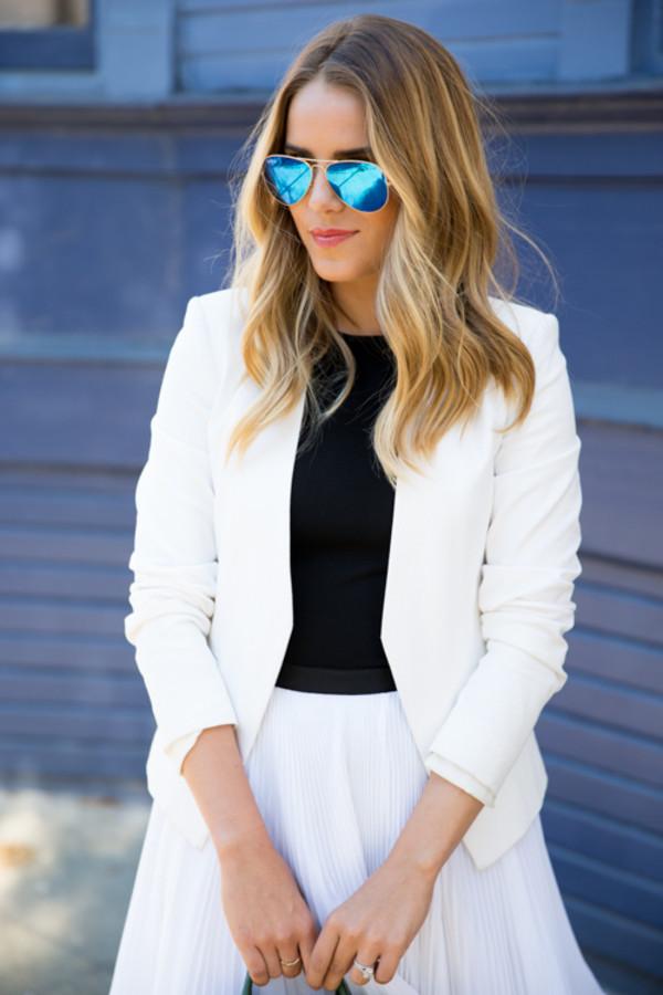 gal meets glam jacket t-shirt skirt shoes bag
