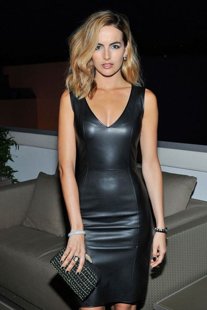 dress leather leather dress camilla belle faux leather